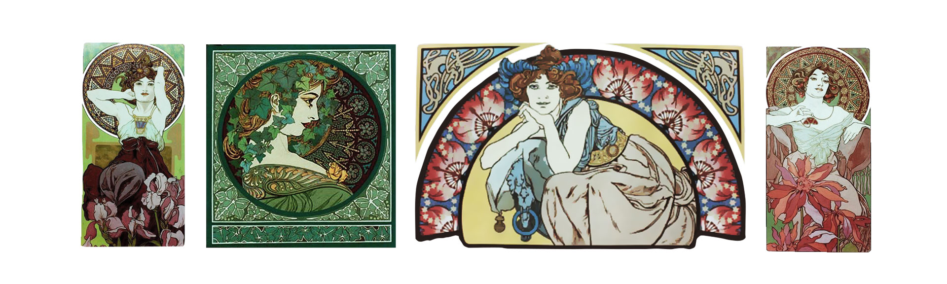 Mucha Inspired Art